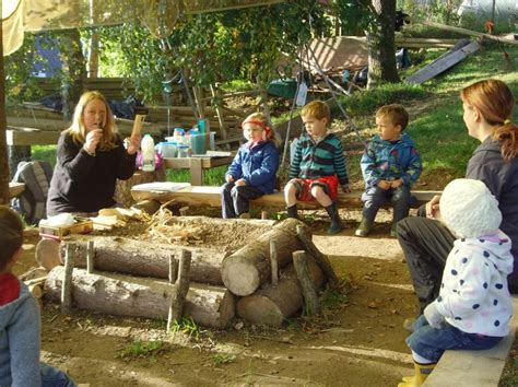 christow pre school forest school open day  exeter daily