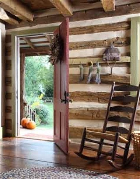 house tours  timeless log home love  hand hewed chinked logs awesome loghome chinking