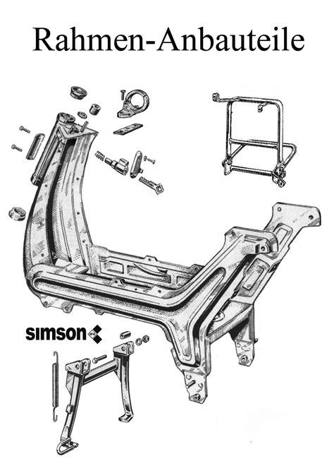 Simson SR50 Ersatzteile im DDRMotorradde Ersatzteileshop