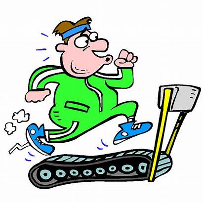 Exercise Cartoon Groaning Hear Person Workout Fitness