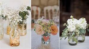 Gros Vase En Verre : les bocaux en verre le sacr atout de votre d co de mariage ~ Teatrodelosmanantiales.com Idées de Décoration