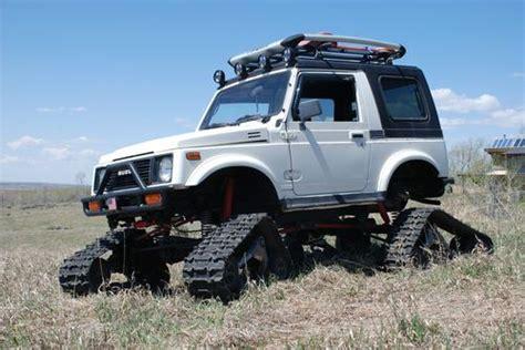 find used suzuki samurai snowcat jeep rockcrawler 4x4 lifted tracks in felt idaho united