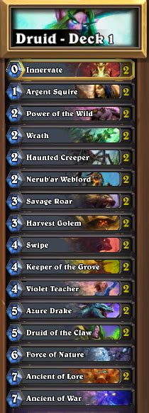 hs s5 druid 3 decks gain ranks golden hero current