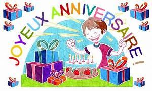 Carte Anniversaire Pour Enfant : carte un beau dessin pour ton anniversaire ~ Melissatoandfro.com Idées de Décoration