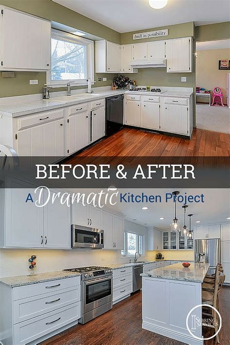 kitchen soffit makeover before after a dramatic naperville kitchen renovation 3081