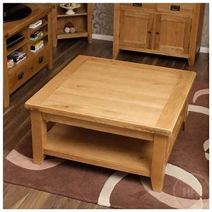 50% Off Rustic Oak Square Coffee Table Vancouver Guarantee