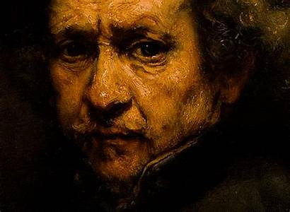 Self Rembrandt Portrait Birthday