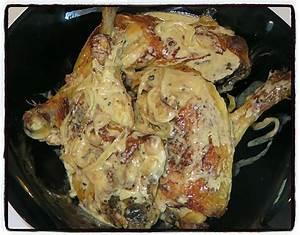 Cuisse De Poulet A La Poele : recette de cuisses de poulet la moutarde par les g teaux ~ Mglfilm.com Idées de Décoration