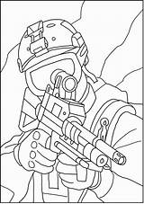 Coloring Military Special Army Drawing Forces Navy Coloriage Disneyland Enemy Sketch Lines Behind Gear Seals Soldier Dessin Drawings Books Soldiers sketch template