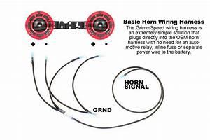 Grimmspeed Hella Horn Wiring Harness Subaru Wrx    Sti