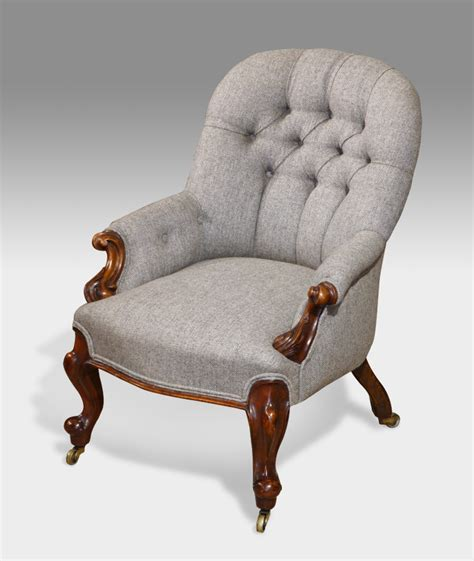 Small Antique Arm Chair, Antique Nursing Chair, Antique