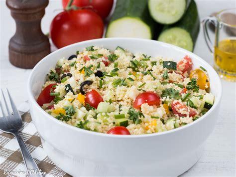 recette cuisine facile rapide taboulé aux légumes recette facile et rapide la