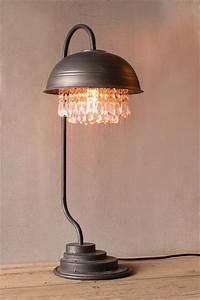 Steampunk Industrial Modern Table Lamp Woodwaves
