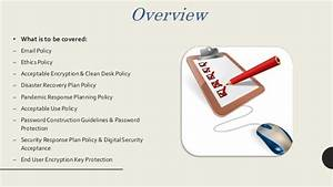 Clean Desk Policy Template Group Presentation For Information Security Class