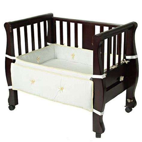 baby co sleeper crib arm s reach co sleeper bassinet sleigh bed sheet white