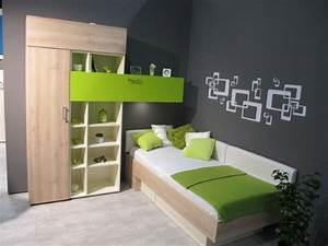 Schlafzimmer In Grün Gestalten : jugendzimmer grau gr n ~ Sanjose-hotels-ca.com Haus und Dekorationen