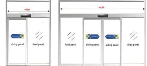 3 panel sliding glass door automatic sliding door bi parting glass door electric