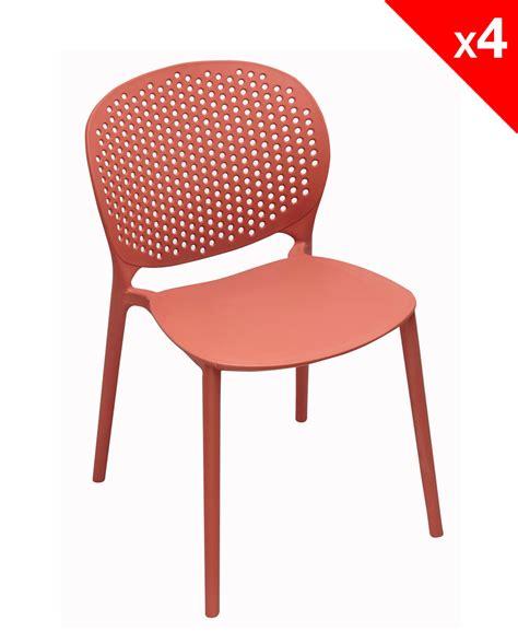 lot 4 chaises lot de 4 chaises moderne intérieur extérieur goa