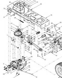 troy bilt lawn mower drive belt diagram troy free engine image for user manual
