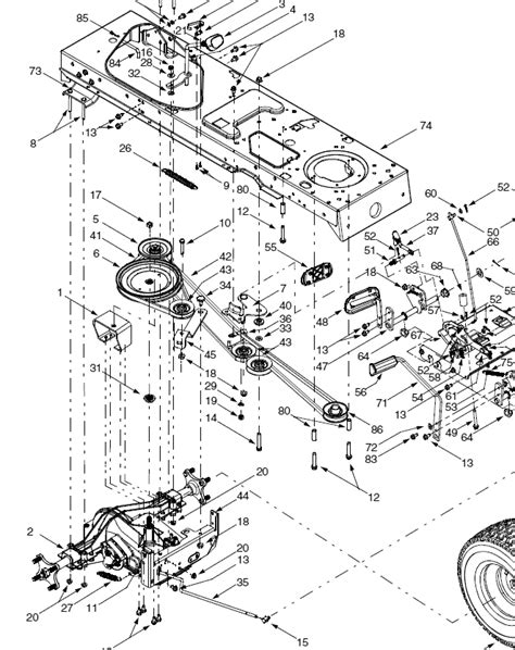 troy bilt lawn mower drive belt diagram troy free engine