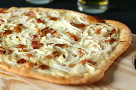 alsace cuisine recipes tarte flambee recipe dishmaps