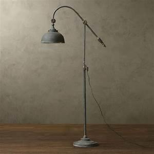 antique metal floor lamp 10721 browse project lighting With reclaimed metal floor lamp