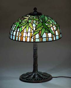 16quot bamboo tiffany lamp 1443 for Tiffany bamboo floor lamp