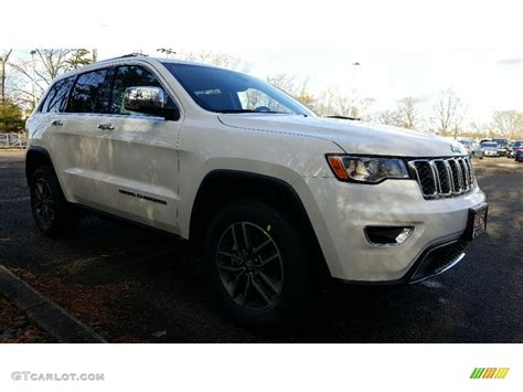 white jeep cherokee 2017 2017 bright white jeep grand cherokee limited 4x4