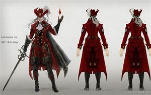 Final Fantasy XIV Red Mage Concept Art Final Fantasy XIV