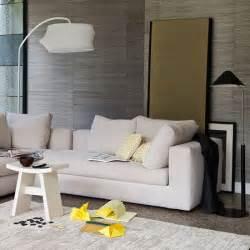 Living Room Wallpaper Neutral by Neutral Living Room Housetohome Co Uk