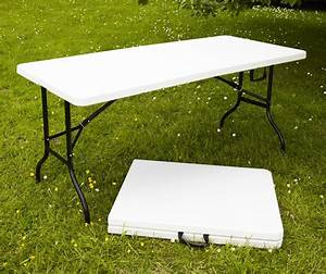 Table De Camping Pliante : table pliante multi usage 180x76x74cm camping pique ~ Dailycaller-alerts.com Idées de Décoration