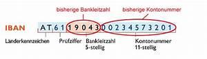 Iban Berechnen Deutsche Bank : tk sterreichischer touristenklub wissenswertes zu sepa ~ Themetempest.com Abrechnung
