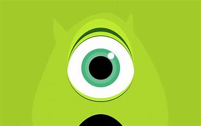 Wazowski Mike Monsters University Wallpapers Background Cave