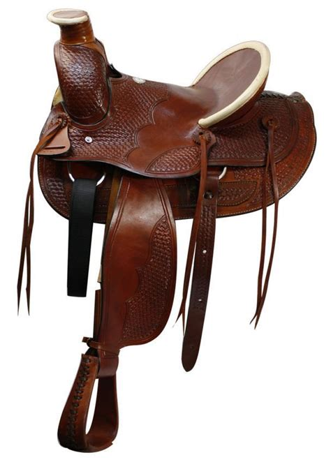saddle saddles horse ranch western seat tack wade pommel hard horn saddlery cantle fork buffalo basket colorado mule roping riding