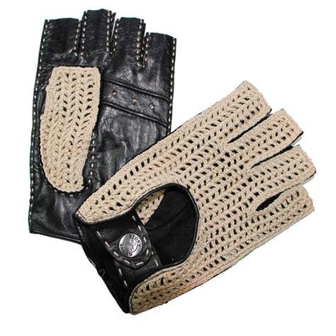 gants cuisine anti chaleur mitaines de conduite homme cuir noir crochet tous les gants