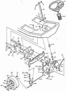 Steering System Diagram  U0026 Parts List For Model 502255090