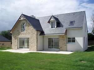 Ordre Des Travaux Construction Maison : r alisation construction de maison traditionnelle fouesnant ~ Premium-room.com Idées de Décoration