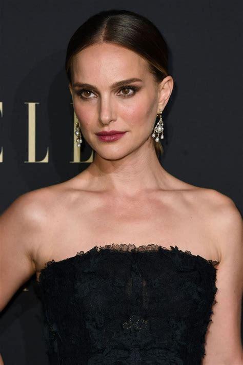 Natalie Portman Elle Annual Women Hollywood