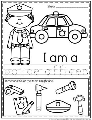 police officer lesson plans for preschool community helpers preschool theme planning playtime 262