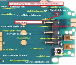 Nokia E71 Charging Not Supported And Not Charging Solution