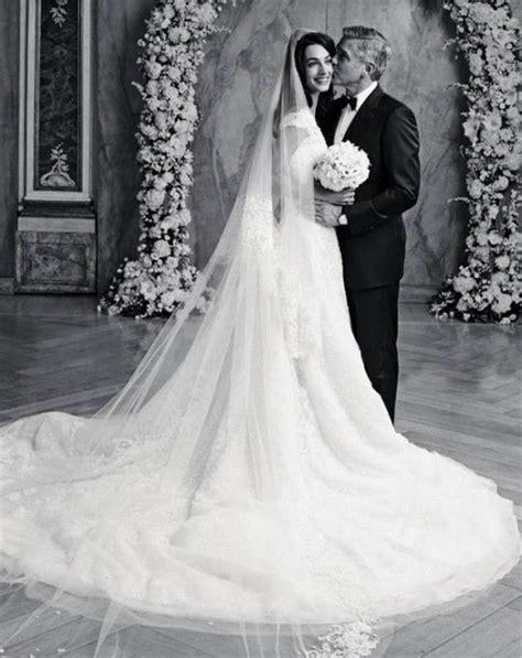 amal alamuddin  george clooney wedding dress