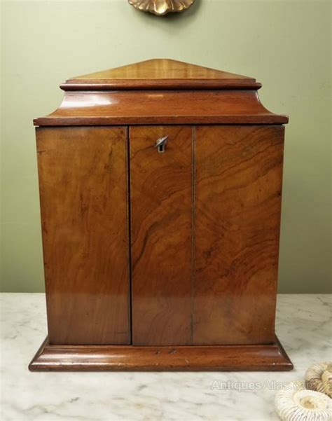 antique humidor cabinet for sale antiques atlas 19th c walnut table cabinet humidor