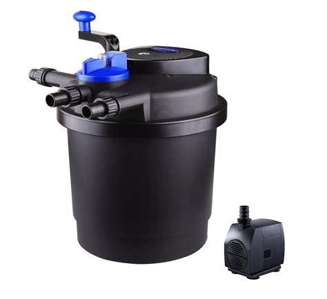 uv light for koi pond new 1600 gallon uv sterilizer bio pond filter w 13 watt