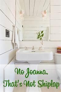 No Joanna, That's Not Shiplap The Craftsman Blog