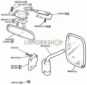 Interior And Door Mounted Mirrors