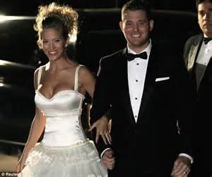 Michael Bublé and his bride Luisana Lopilato continue ...