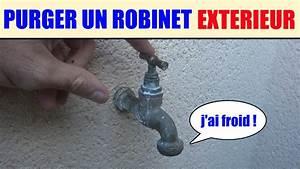 Installer Robinet Exterieur : purger un robinet ext rieur proteger du froid le gel vidanger la tuyauterie youtube ~ Dallasstarsshop.com Idées de Décoration