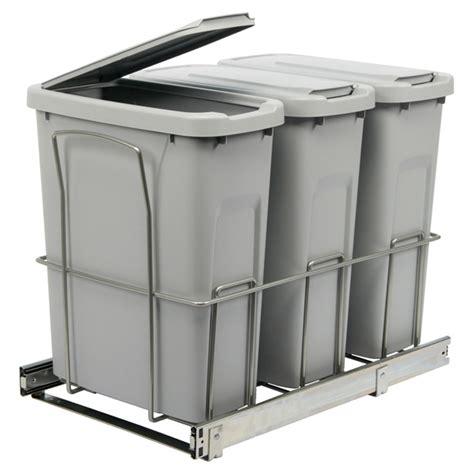 poubelle cuisine coulissante poubelle coulissante pas cher