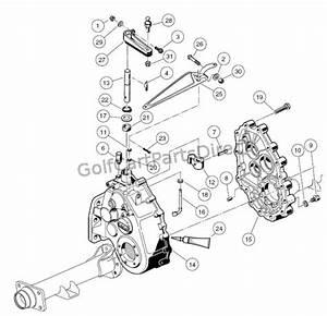 Unintized Transaxle - Gear Cases Brackets
