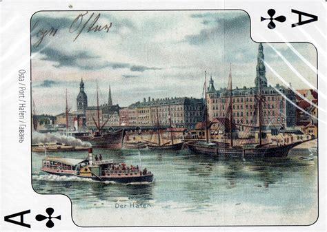 Puzzles and Games - Rīga vecās pastkartes. Spēļu kārtis ...